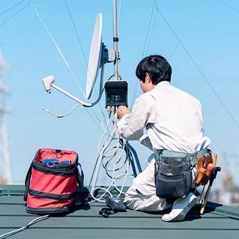 京都府でアンテナ修理・設置なら住まいのメンテ