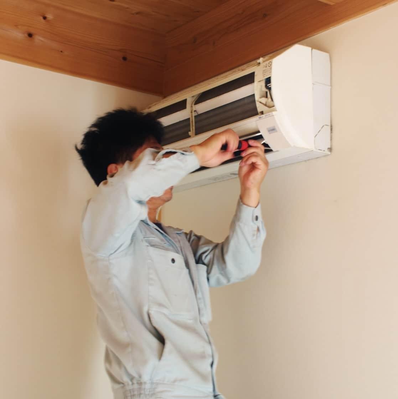 エアコン修理やエアコンの新規取付・取り外し工事、クリーニングなら住まいのメンテ